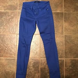 Royal Blue Joes Skinny Jeans